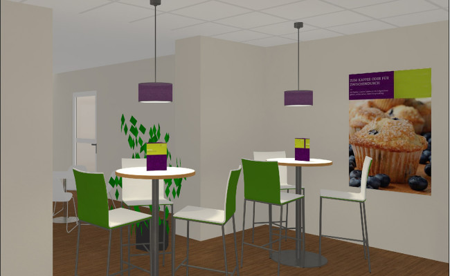 cafeteria, in planung, oberhausen » objekt id planungs- und, Innenarchitektur ideen
