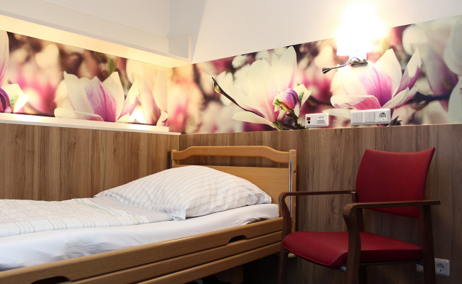 LWL Klinik Hemer E18 Bewohnerzimmer Einzelzimmer