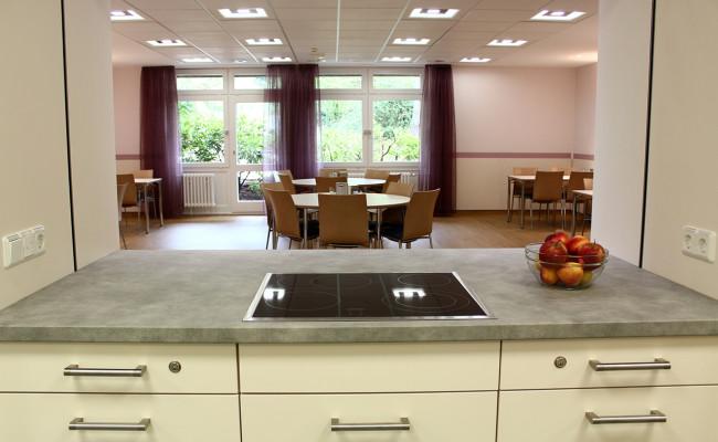 LWL Klinik Hemer E18 Küche Essbereich