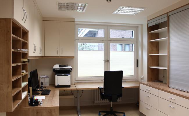 LWL Klinik Hemer E18 Schwesternzimmer, Aztbereich